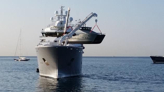 Fuel Near Me >> Ulysses moored off Cannes - SuperYacht World