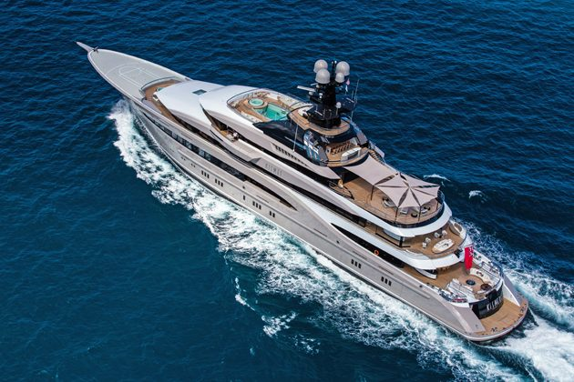 On board the 95-metre Lürssen Kismet - SuperYacht World