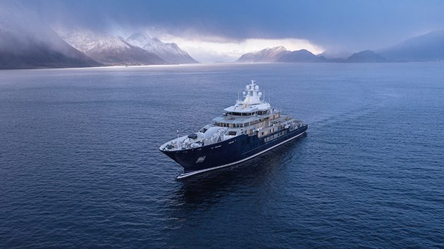 Kleven S New Explorer U116 Spotted On Sea Trials Superyacht World
