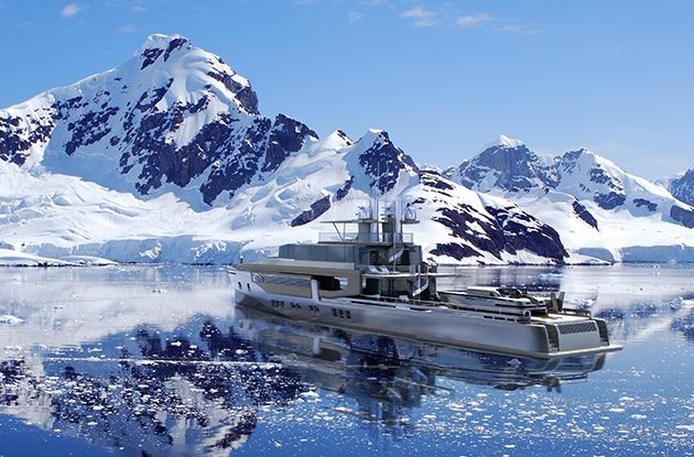 Explorer yacht concepts