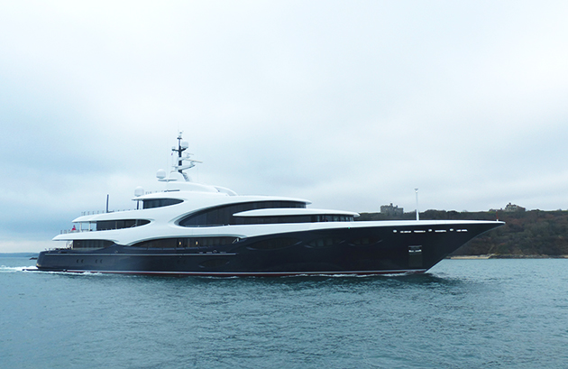Exclusive Pictures Of 88 5m Oceanco Barbara On Maiden
