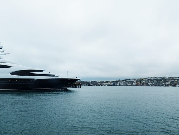 Exclusive pictures of 88 5m Oceanco Barbara on maiden voyage