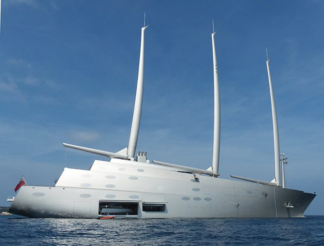 Sailing Yacht A >> Sailing Yacht A Spotted In Cannes Superyacht World