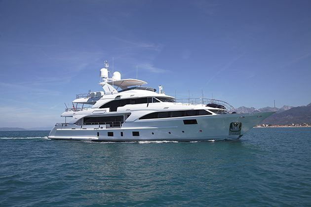 37 Metre Lady Lillian Delivered By Benetti Superyacht World