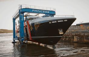Image courtesy of Princess Yachts International