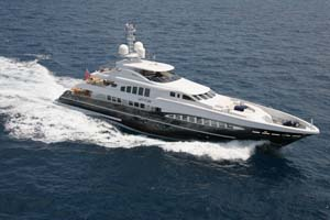 Let It Be will be on display at the Palma Superyacht Show