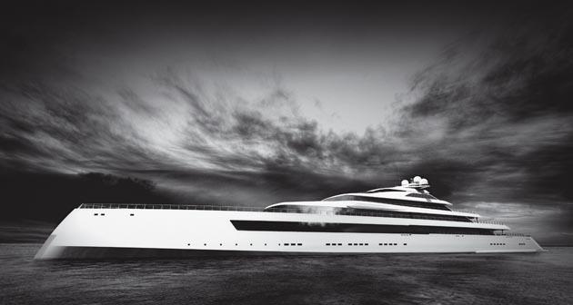 Estatement, a 115m concept by Sinot Exclusive Yacht Design