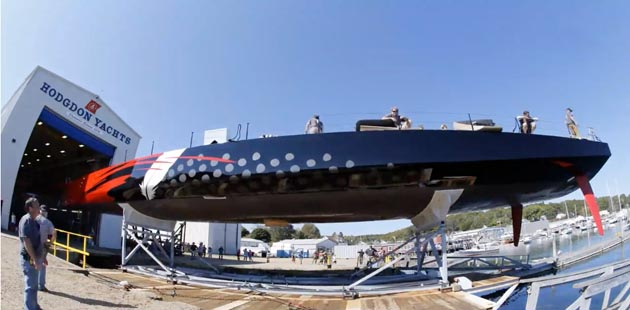 Hodgdon Yachts launches Comanche