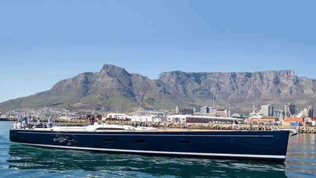 The launch took place on February the 18th in Cape Town's commercial harbour