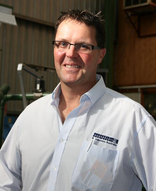 Muir managing director Matt Johnston