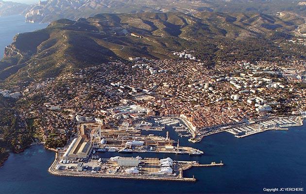La Ciotat Semidep shipyard