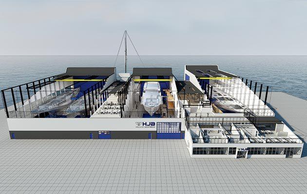 Royal Huisman-Holland Jachtbouw facilities