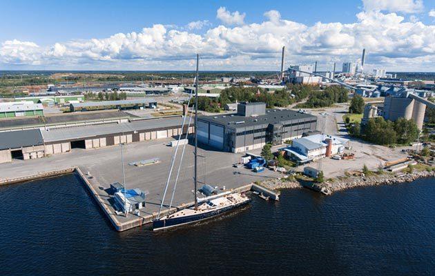 Baltic Yachts shipyard