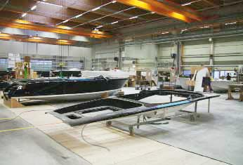 Frauscher Yachts — Yard visit report in IBI Technical