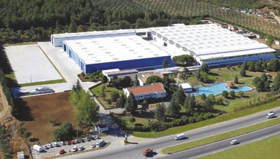 Sirena's 103,000m2 facility in Bursa, an hour or so's drive from istanbul (traffic permitting)