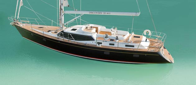 Discovery 55 Mk II will be launched at the Southampton Boat Show