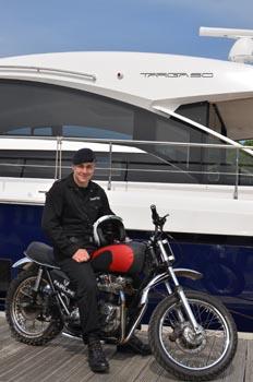 Sig Simon Sumpter with Targa 50