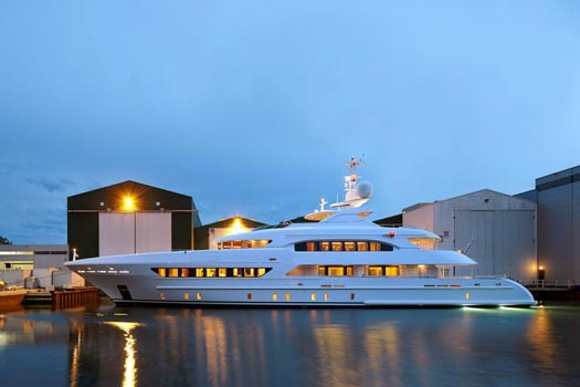 Project Margarita will be delivered to her owners on 30th June 2014
