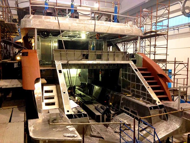 Wider 150 under construction