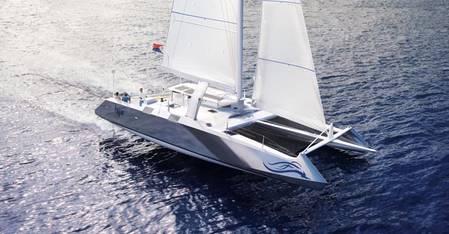 B53 catamaran is scheduled for launch in March 2015