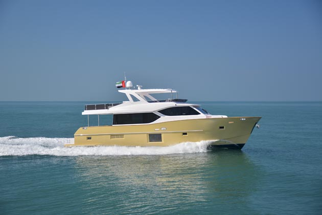 Nomad 65 is Gulf Craft's first semi-displacement yacht