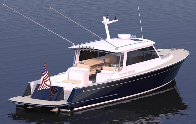 New Zurn/Neb 38 custom dive boat under construction - IBI News  New Zurn/Neb 38...