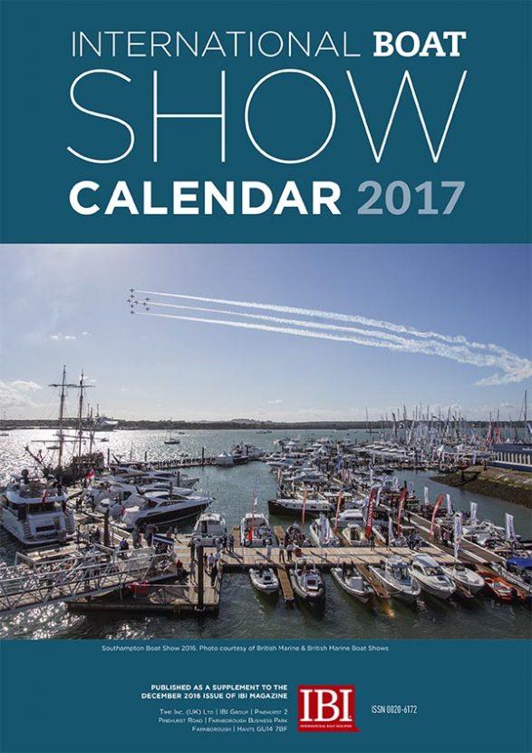 IBI Boat SHow Calendar 2017