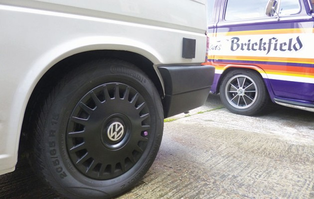 VW T4 rear wheelarch repair
