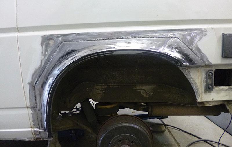 Vw T4 Rear Wheelarch Repair Vwt Magazine