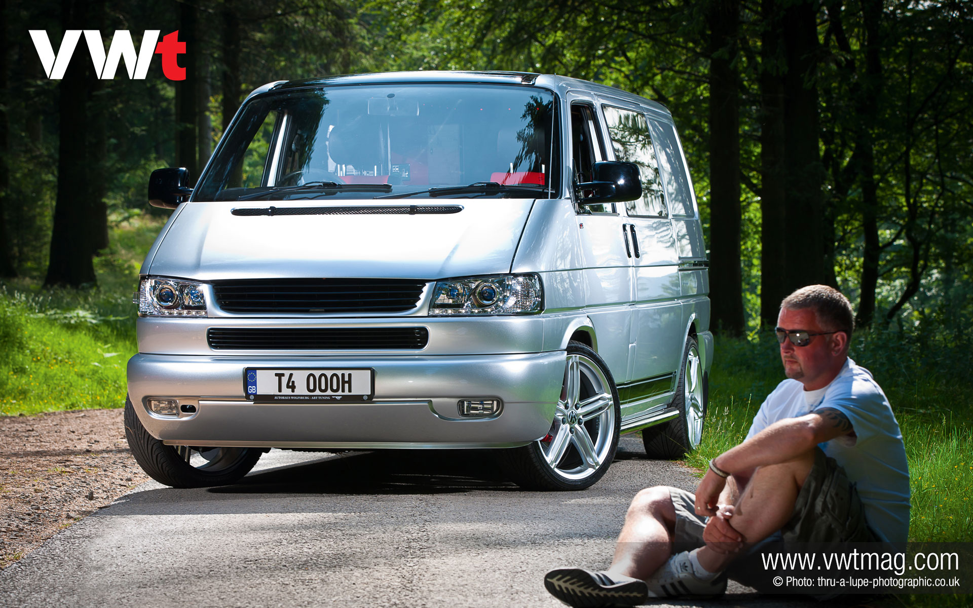 2002 Vw T4 Campervan Desktop Wallpaper Vwt