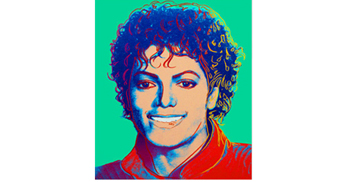 Michael Jackson Andy Warhol Portrait On Display In London This Weekend