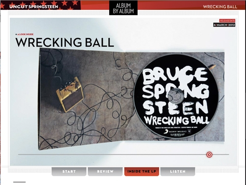 Uncut Springsteen iPad App
