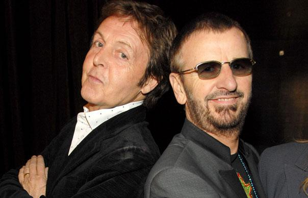 Paul McCartney And Ringo Starr Reunited To Perform On Stage At The 56th Grammy Awards Took Los Angeles Staples Center