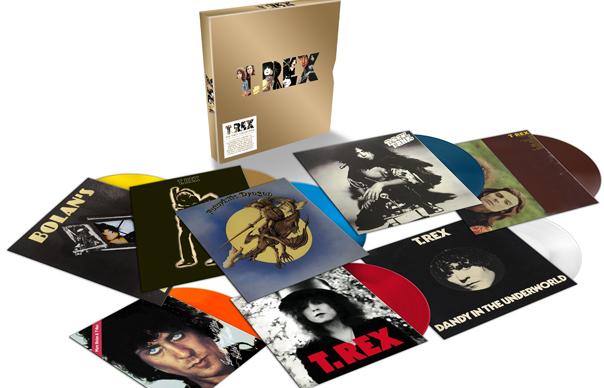 Win Limited Edition T Rex Coloured Vinyl Box Set Uncut