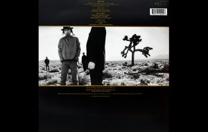 The Joshua Tree back cover