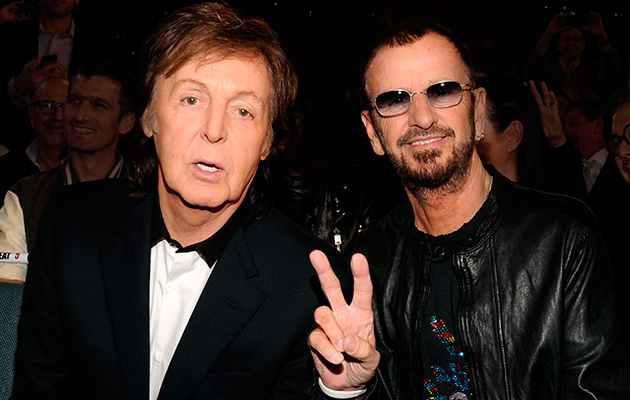 Watch Paul McCartney Induct Ringo Starr Into The RocknRoll Hall Of Fame