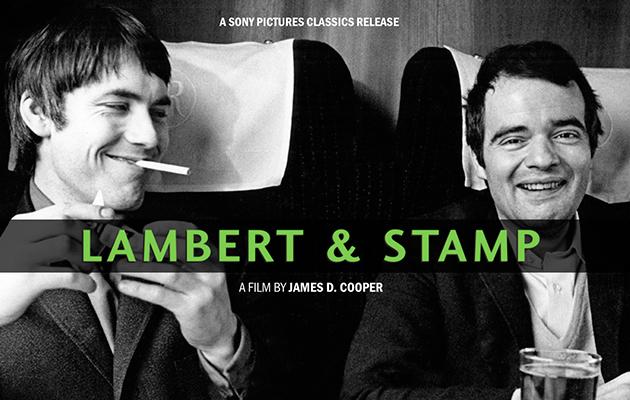 Lambert & Stamp poster