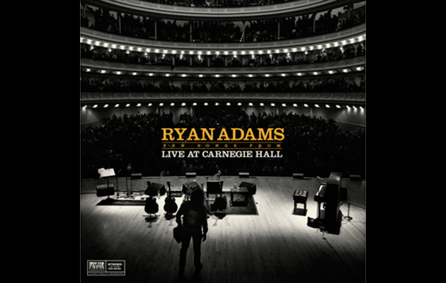 Ryan Adams To Release Ten Songs From Live At Carnegie Hall