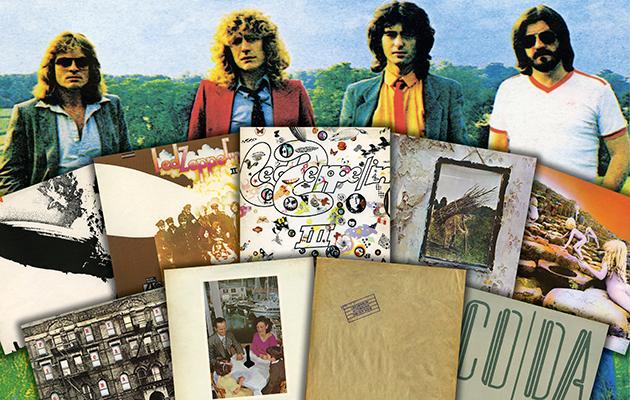 Win All Nine Remastered Led Zeppelin Albums On Vinyl Uncut