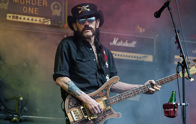 Motorhead at the Glastonbury Festival on June 26, 2015. (Photo by Samir Hussein/Redferns via Getty Images)