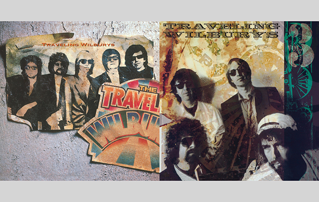 The Traveling Wilburys Vol 1 And Vol 3 For Record Store