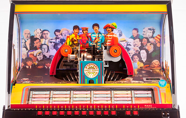 The Beatles Sgt Pepper Jukebox Goes On Sale Uncut