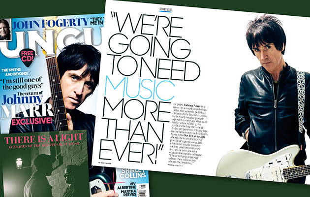 "Johnny Marr exclusive: ""We're going to need music more than ever"""