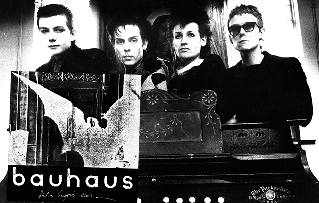 Bauhaus to release first ever recording session