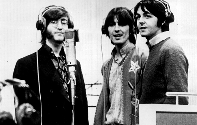 Hear an unreleased acoustic take of The Beatles'