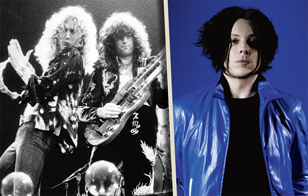 Hear Jack White's Led Zeppelin playlist