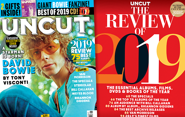 Uncut's Essential Review Of 2019 is in shops now! - Uncut