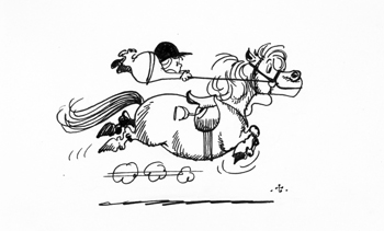 Norman Thelwell Cartoon