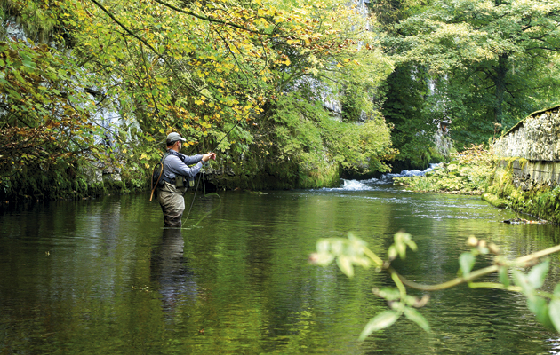Top 10 trout rivers. Fishing.