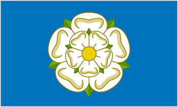 Yorkshire county flag
